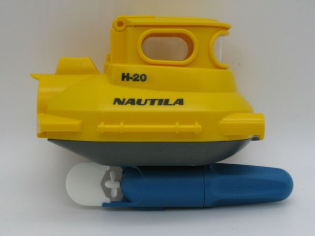 1999 Geobra PLAYMOBIL Nautila Yellow Submarine 3611 &Underwater Motor 7350~PARTS