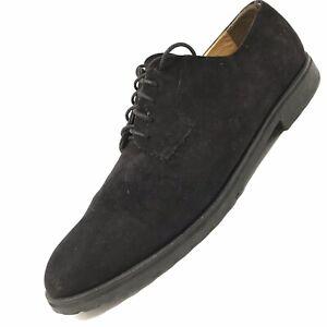 MAGNANNI-Men-s-Suede-Black-Dress-Oxford-Lace-Up-Shoes-Size-13-N