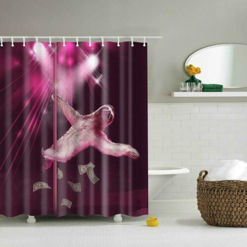 72/'/'x72/'/' 180cm x 180cm, Different Designs Fabric Shower Curtains with Hooks