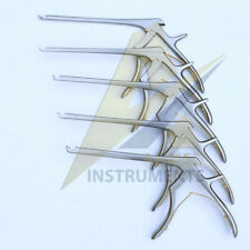 Kerrison Rongeurs Cervical 7 12345mm Set Of 5 Pcs Orthopedic Instrument