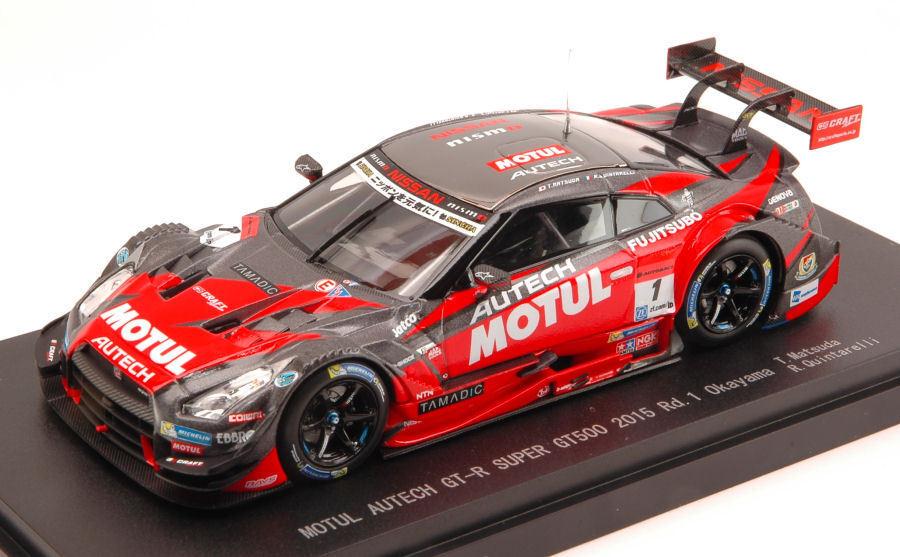 Nissan GT-R  1 13th Okayama 2015 Super gt500 Matsuda Quintarelli 1 43 MODEL