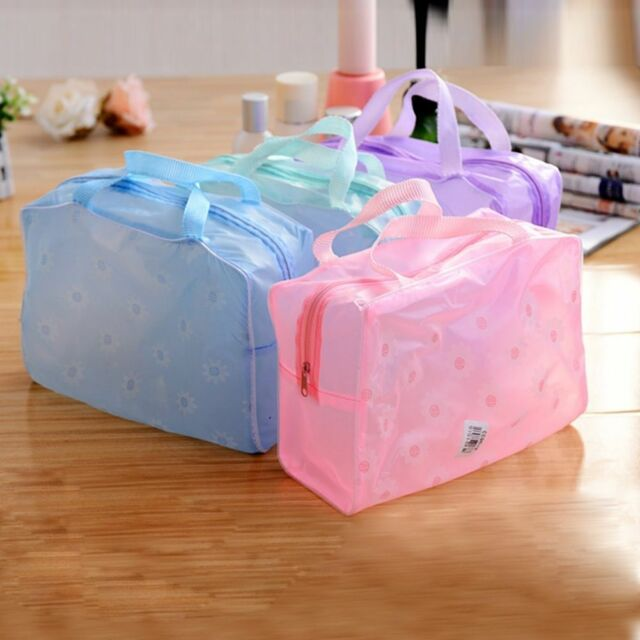 New Portable Durable Makeup Bath Cosmetic Toiletry Travel Bag Organizer Case