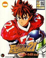 DVD Anime Eyeshield 21 Vol 1-145 End English Sub Free Ship