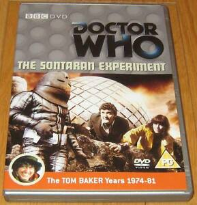 Doctor-Who-DVD-The-Sontaran-Experiment-Excellent-Condition