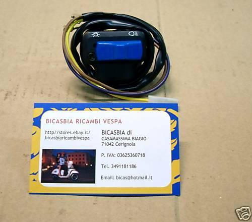 Switch Diverter Lights Piaggio Si FL2 from 1999