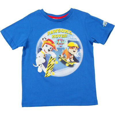 Boys Size 5 ~ Paw Patrol Chase Long Sleeve Shirt ~ New ~ MBC
