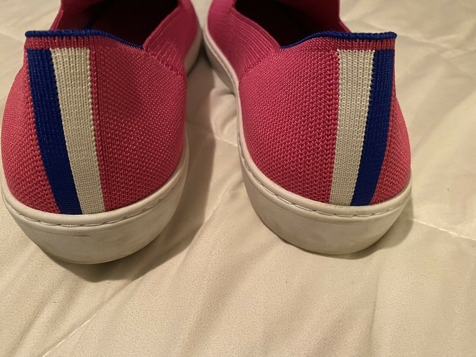 Rothys sneakers Bubblegum pink size 12.5 - image 5