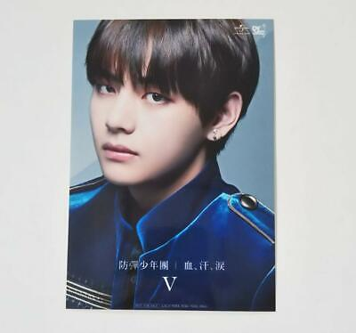 Bts V Taehyung Blood Sweat Tears Japan Tower Record Limited