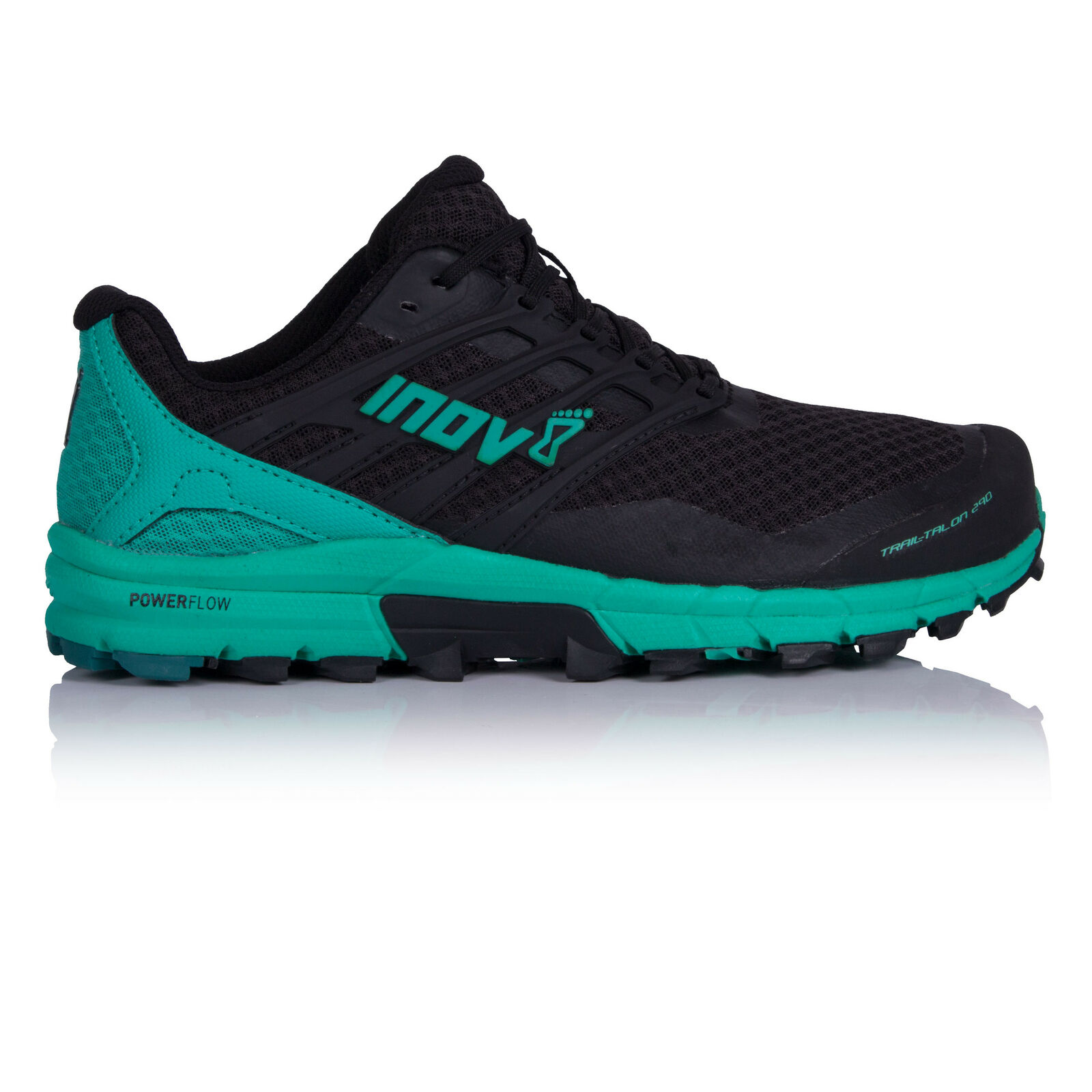 Inov 8 da donna trailtalon 290 Trail correrening Sautope da ginnastica nero blu