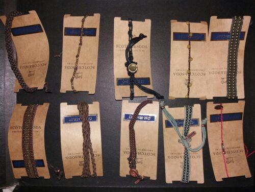Amsterdam ScotchSoda 30 Couture pour bracelets de hommefemmes Lot w0OvNym8n