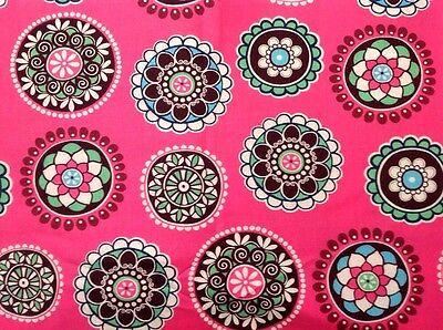 Remnant from Cupcake Pink Vera Bradley Napkin crafting ~ HTF new