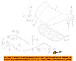 Genuine Hyundai 81180-2H000 Hood Latch Release Base Assembly