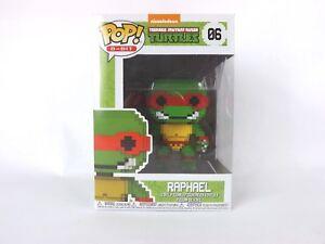 Vinyl Figure Funko #06 Teenage Mutant Ninja Turtles Raphael 8-Bit Pop