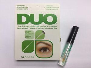 11ced105f13 New DUO 5g False Eyelashes Glue Brush On Lash Adhesive Clear White ...