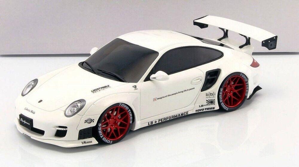 Porsche 911 (997) lb rendimiento en 1 18 por GT Spirit