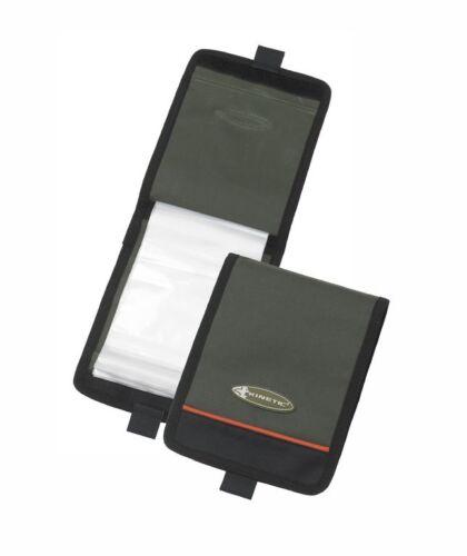 Kinetic Rig Wallet-vorfach Sac avec 10 zip-lock Sachets Accessoires Sac