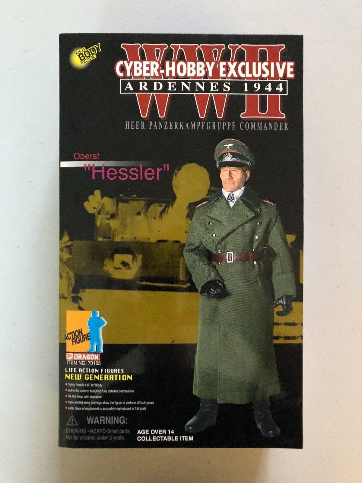 CyberHobby Heer Panzerkampfgruppe Comuomoder Oberst  Hessler   Ardennes 1944  Felice shopping
