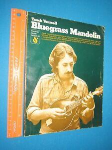Teach Yourself Bluegrass: Teach Yourself Bluegrass Mandolin By Statman 1978 Soft Remise GéNéRale Sur La Vente 50-70%