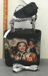 Wizard Of Oz Purse/Bag w/cell Phone Case and Strap Rhinestones on front Dorothy