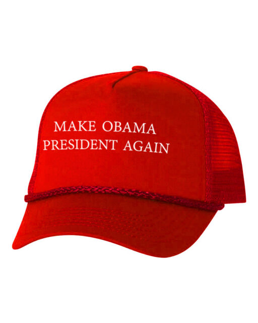 Buy Make Obama President Again Custom Trucker Hat Adjustable Cap New ... ca5c83fe9da