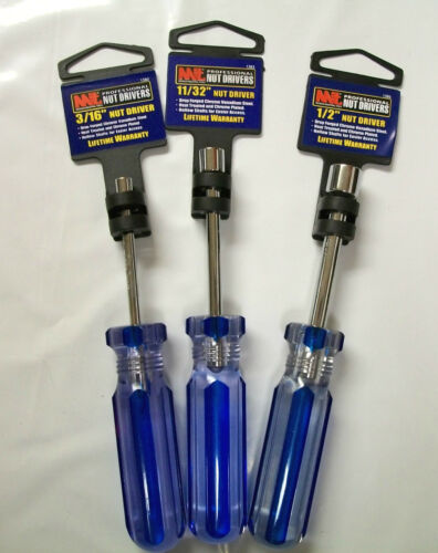 MIT Hollow Shaft You Choose Size Lot of 10 Nut Driver