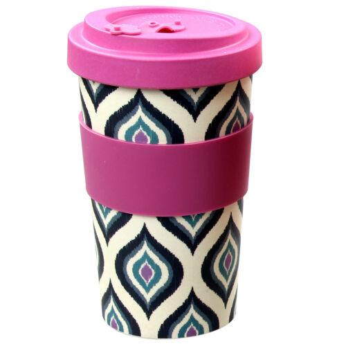 600 ml Réutilisable Bambou Fibre Ecoffee tasses thé tasses à café Violet Eco Tasse De Voyage