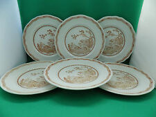 MASONS QUAIL 6 x DINNER PLATES 10.25''