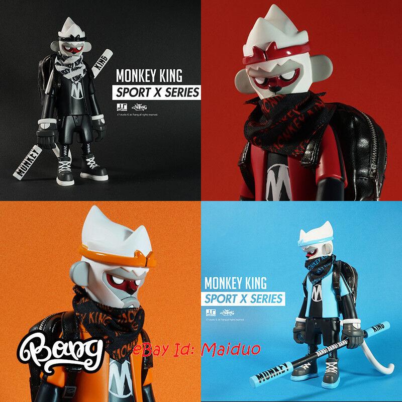 JT Studio Monkey King Sport Série x Action Figure collections Model Set de 4
