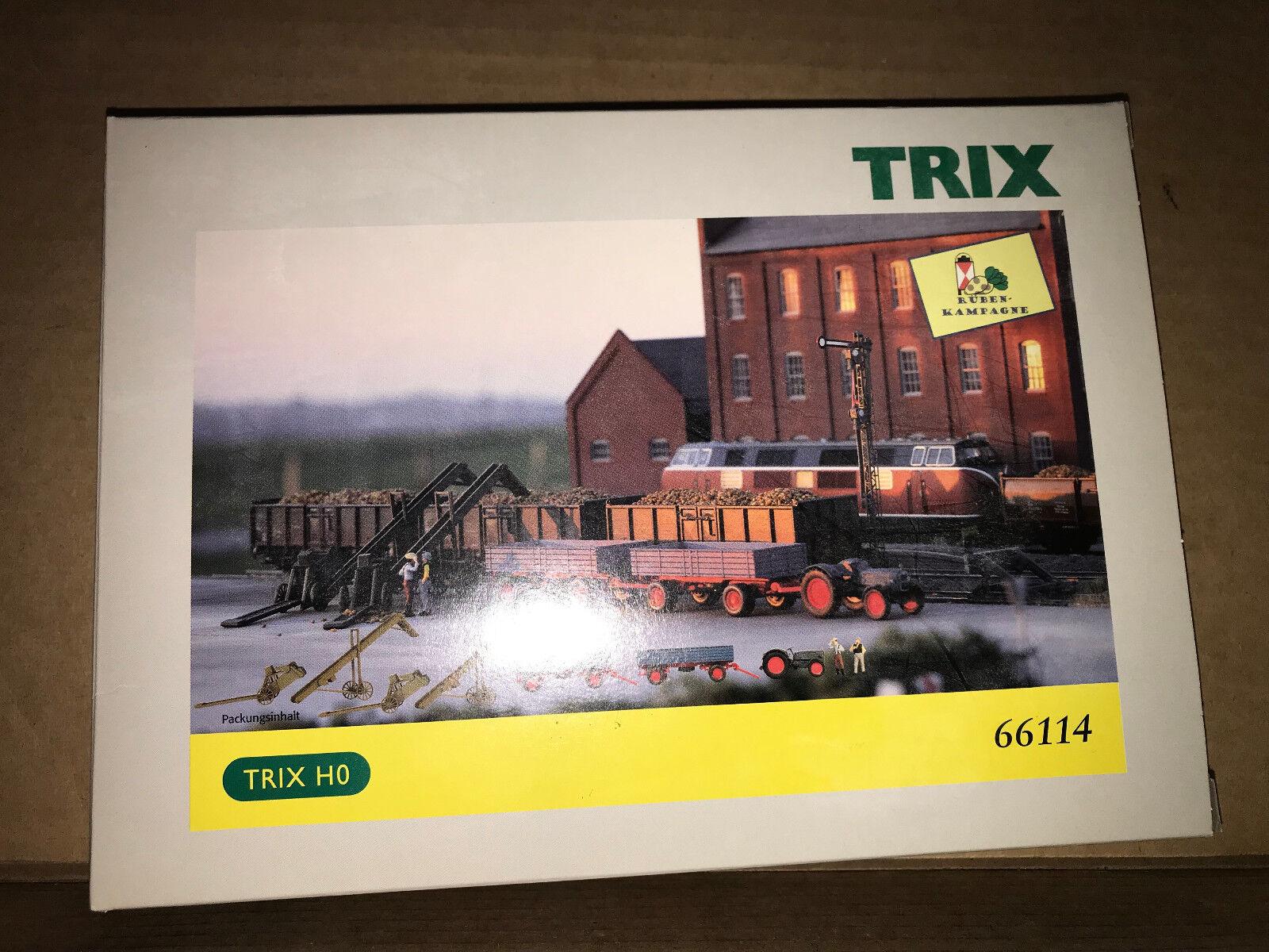 TRIX 66114, Piste h0, Accessoires-Set Sucrerie NEUF  neuf dans sa boîte