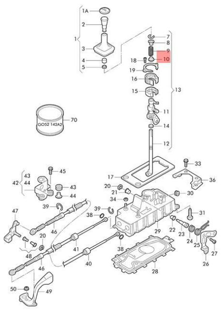 Exhaust System Exploded View 95 Rpo Nb6 96 97 Dual Cat