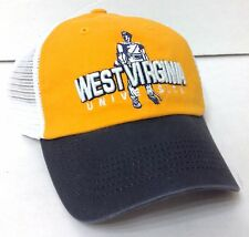 8990908d004 item 1 NEW top-of-world WEST VIRGINIA MOUNTAINEERS HAT Relaxed-Fit Trucker  Yellow Navy -NEW top-of-world WEST VIRGINIA MOUNTAINEERS HAT Relaxed-Fit  Trucker ...