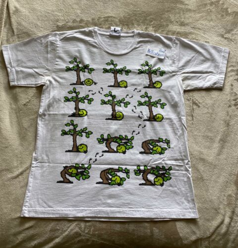 """Online Ceramics T- Shirt sz L """" Tree Hugger """" RARE"""