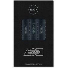 Acme Studios Roller Ball Refill Pack/5 PREFRBKBOX Black - Schmidt, German made