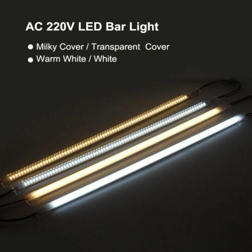 5pcs LED Bar Light AC220V 50cm 72LEDs 2835 LED Rigid Strip LED Fluorescent Tubes