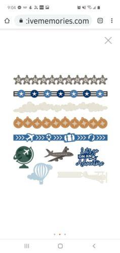 Creative Memories Planes Laser Cut Embellishment Travel /&  Vacation