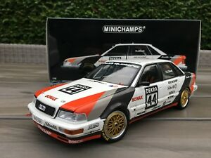 1-18-Audi-V8-Quattro-44-Team-SMS-H-J-Stuck-DTM-1990-Minichamps-100-901044
