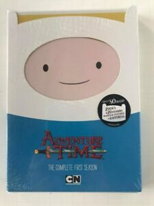 Adventure Time: The Complete First Season (DVD, 2012, 2-Disc Set)