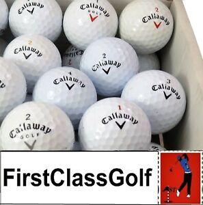 Callaway-Chrome-soft-X-Supersoft-Warbird-Melange-Balles-de-golf-Lac-Balles-Comme-neuf-PEARL-A