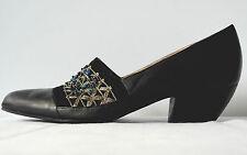 Faire Lady Damen Pumps Schuhe TRUE VINTAGE Halbschuhe Velours Leder Slipper 39,5