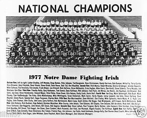 1977-NOTRE-DAME-IRISH-FOOTBALL-NATIONAL-CHAMPIONS-8X10-TEAM-PHOTO-JOE-MONTANA
