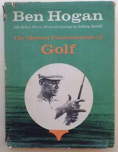 034-The-Modern-Fundamentals-of-Golf-034-Ben-Hogan-1958-manuale-golf-originale-vintage