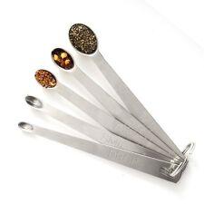 Norpro Mini Measuring Spoons 5 Set Stainless Tad Dash Pinch Smidgen Drop 3080