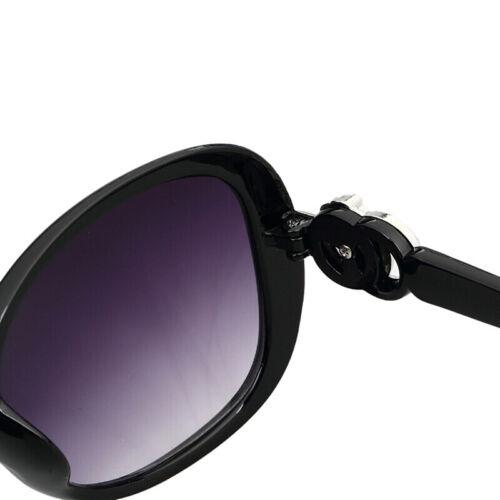 Women Vintage Oversized Sunglasses UV400 Huge Shades Retro Round Eyew TC