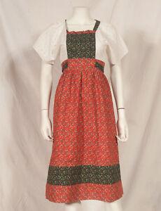 Annees-60-Francais-Vintage-Long-Summer-Flower-Print-Dress-UK-8