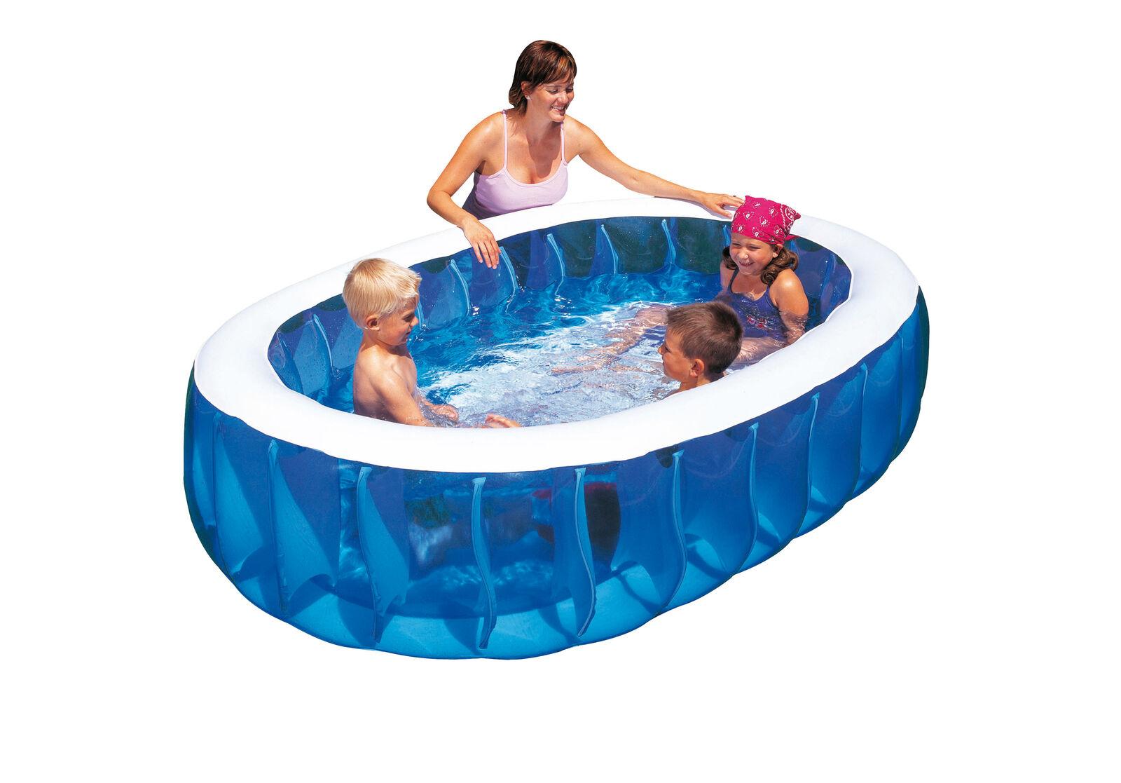 Bestway 54066B piscina gonfiabile ovale cm 152x234x51h per bambini giardino este