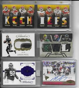 NFL-Football-Cards-Hot-Packs-2-Hits-10-Cards