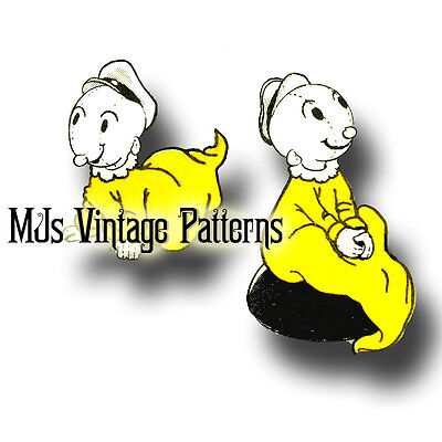 Vintage Sweet Pea or Swee/' Pea Popeye Cloth Stuffed Doll Pattern