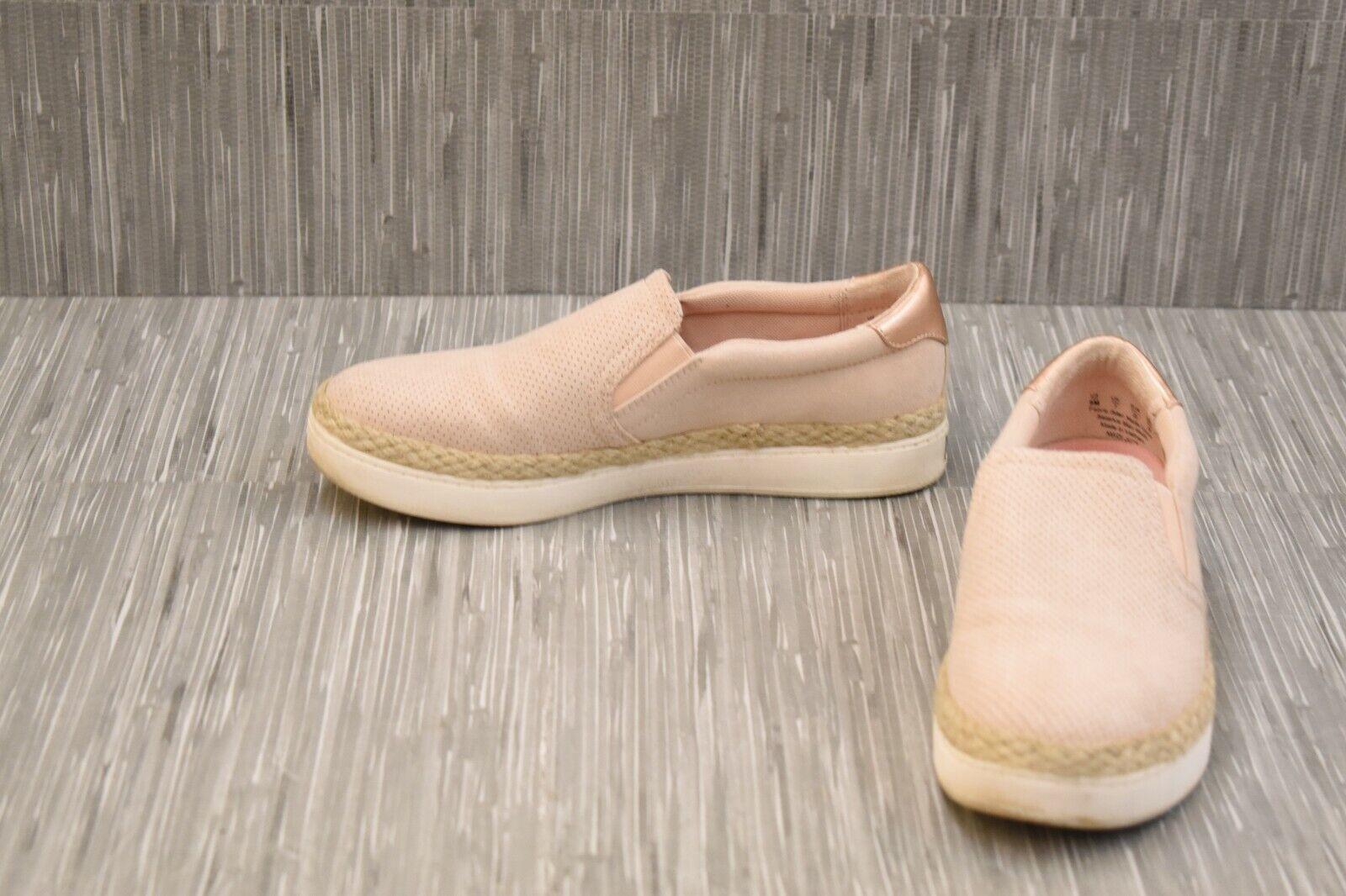 Madi Jute Fabric Slip On Sneakers