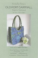 OLD PORT CARRYALL SEWING PATTERN, Bags, Purses & Totes From Aunties Two NEW