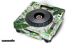 Skin Decal Sticker Wrap for Pioneer CDJ 800 MK2 Turntable Pro Audio Mixer WEED W